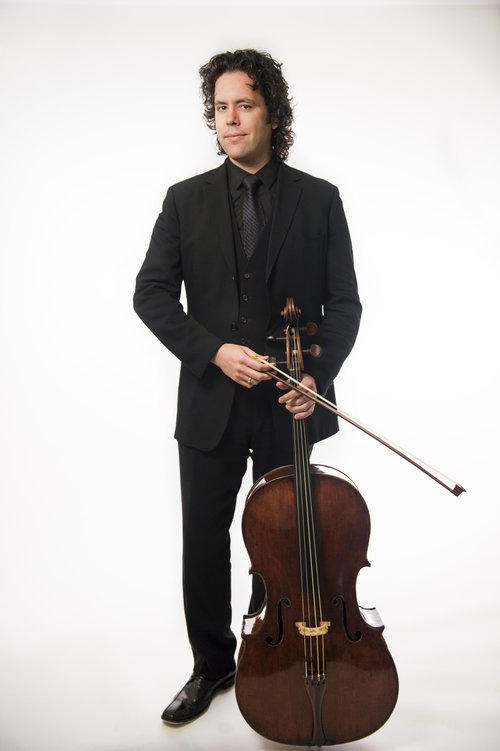 guy full body-cello
